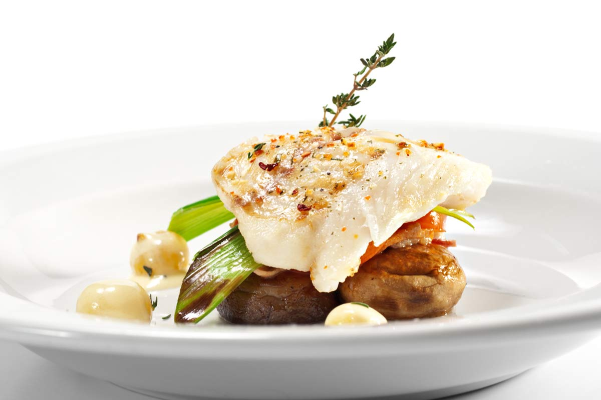 דג הליבוט בתנור