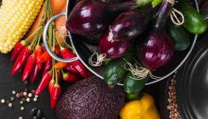 תזונה לגאוט, תמונה של ירקות טריים לבישול